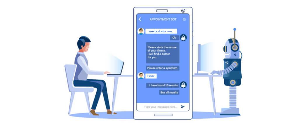 chatbot na medicina
